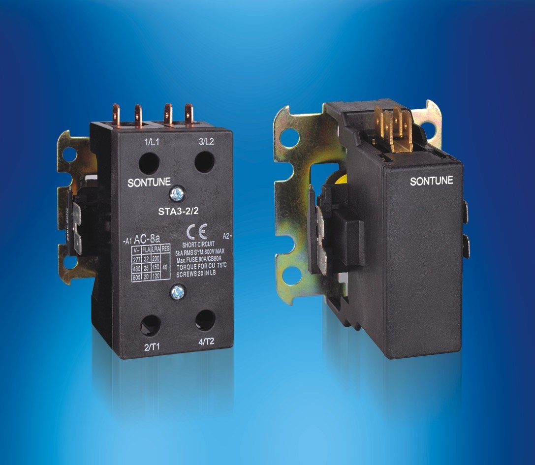 Air Conditioning Contactor Sta Series 1p 2p 3p