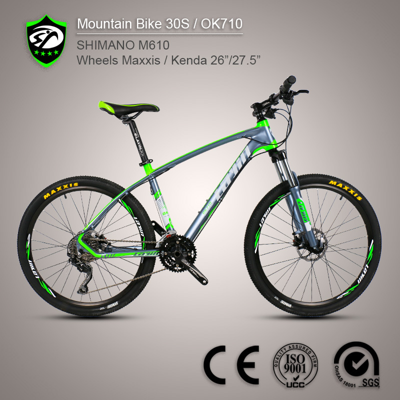 Made in China 26′′ Aluminum Alloy Mountain Bike