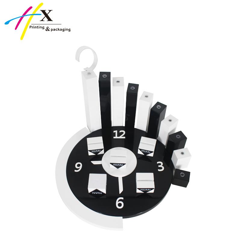 Customized Fashion Wooden Pocket Watch Display/Wrist Watch Stand