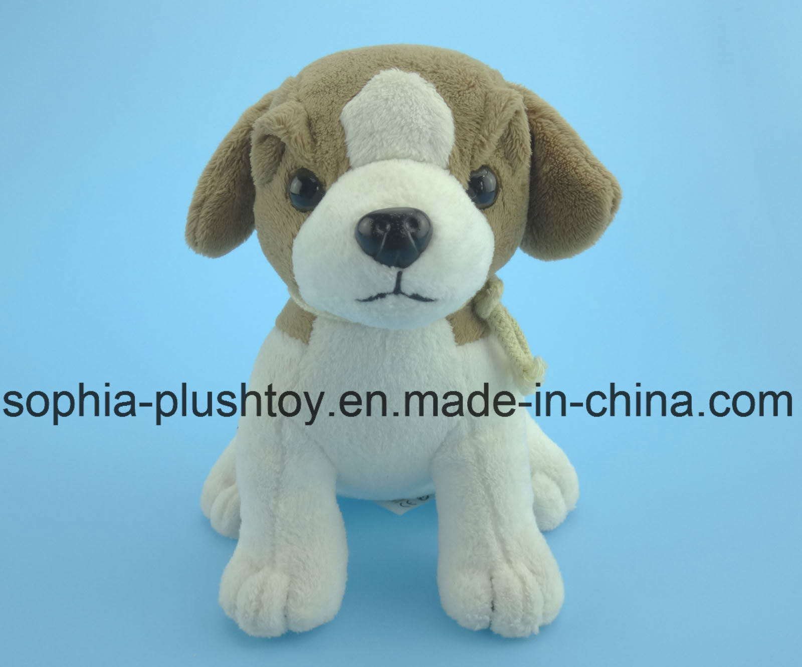 Soft Stuffed Plush Dog Toy 4 Asst.