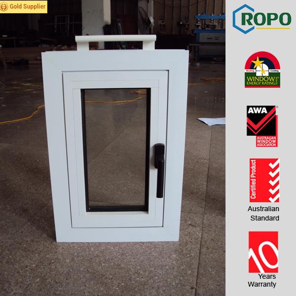 European Style Aluminium Hurricane Proof Windows with Hurricane Proof Glass