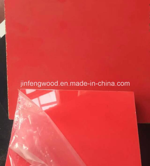 Furniture Material Carbinet Board in Door High Glossy UV Coated MDF Plywood Blockboard