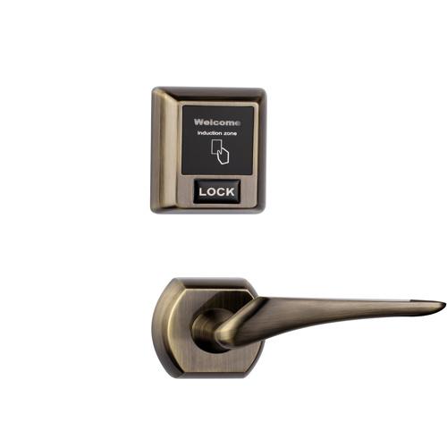 Separate RF57 Hotel Door Lock Unlocked by Card or Emergency Key
