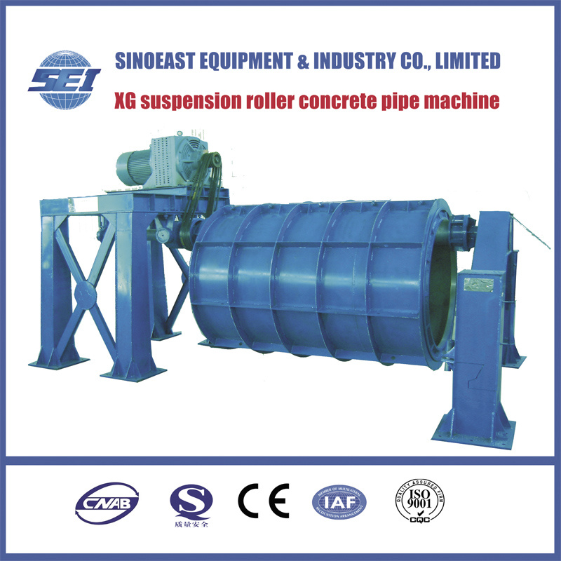 Xg 1400 Suspension Roller Concrete Pipe Making Machine