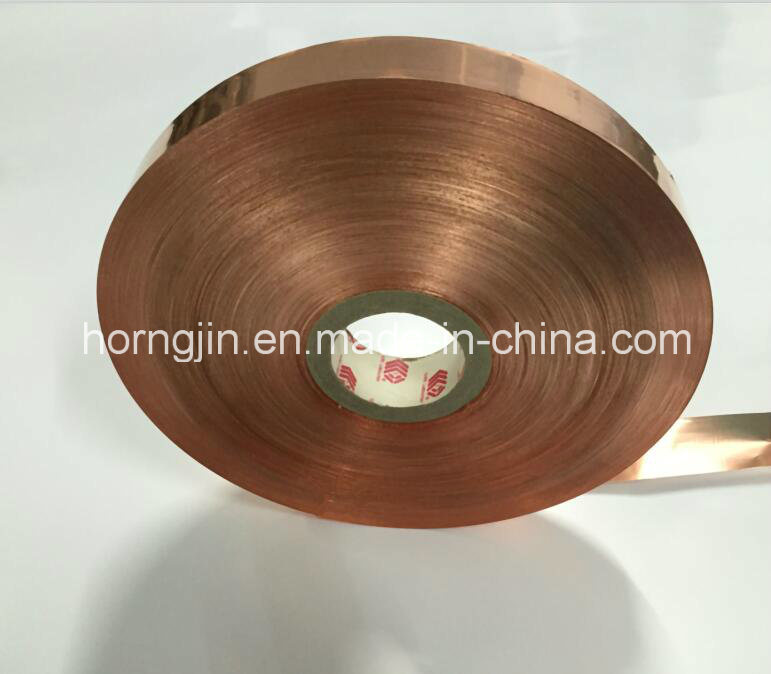 Polyester Tape Copper Foil Film Very Fine Axis Products in Small Roll for Cable USB3.0