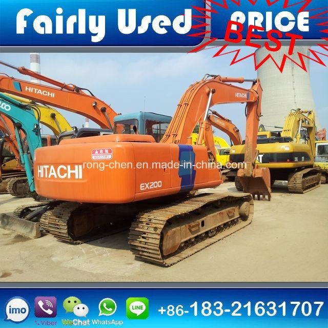 Used Hitachi Ex200-3 Crawler Excavator for Sale