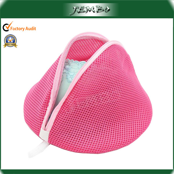 Pink Mesh Washing Laundry Bag