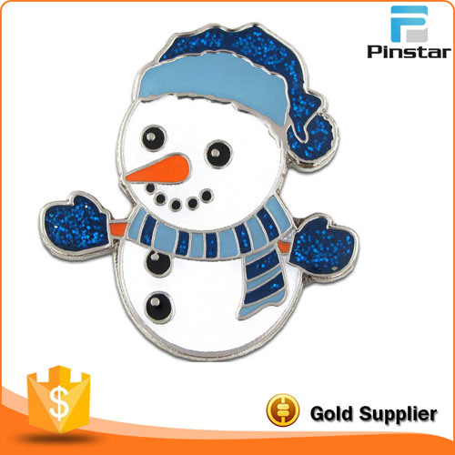 Manufacturer of Custom Badge Christmas Series Christmas Custom Metal Arts and Crafts