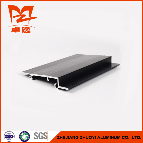 Black Anodized Aluminium Profiles for Automotive Sunroof Series