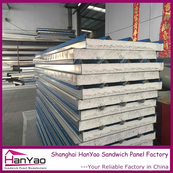EPS Sandwich Panel Roof Corrugated Steel Sheet Polystyrene Roof Sandwich Panel