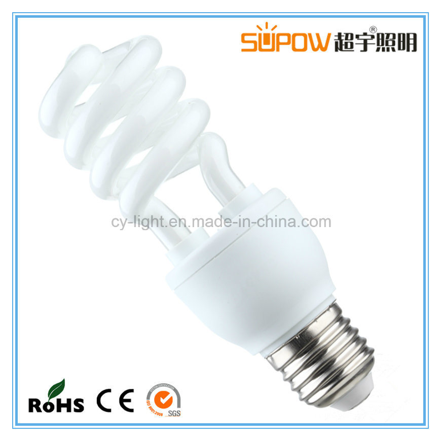 Tri-Color CFL Lighting T2 Half Spiral Series Energy Saving Lamp