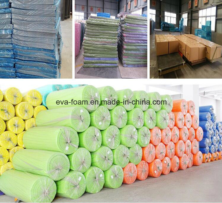 100% Raw Material 8X4 Feet Color EVA Foam Sheet Material