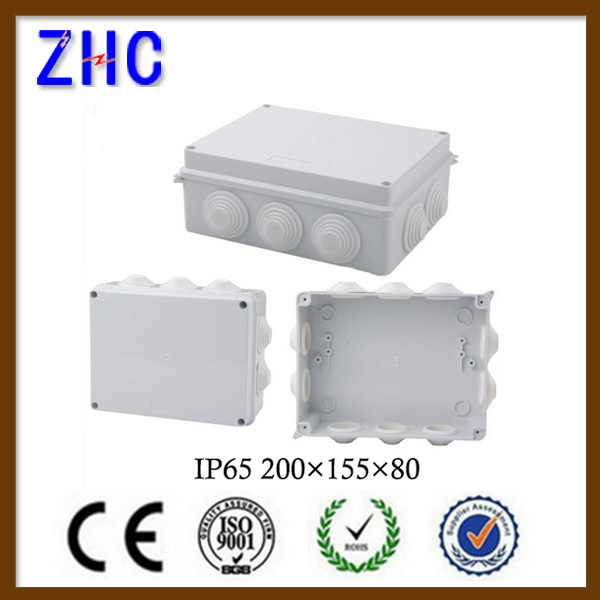 50*50 Enclosure Waterproof Electrical ABS Plastic Cable Connection Junction Box