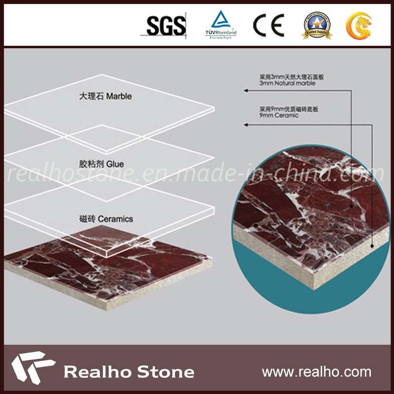 Rosso Levanto Marble Ceramic Laminated Floor Tile