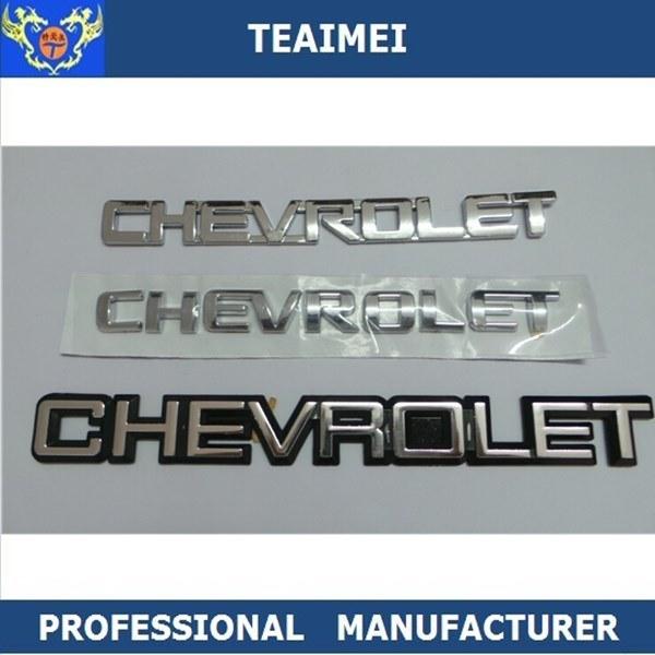 ABS Plastic Auto Chrome Nameplate Car Emblem Badge