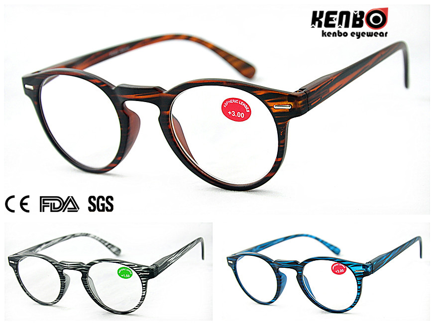 Hot Sale Fashion Reading Glasses CE FDA Kr5132
