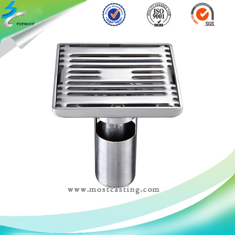 Stainless Steel Sanitary Ware Floor Drain of Specular Highlights