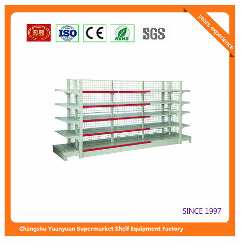 Metal Trade Equipment Retail Shelf Display Fixtures Show Case 07291