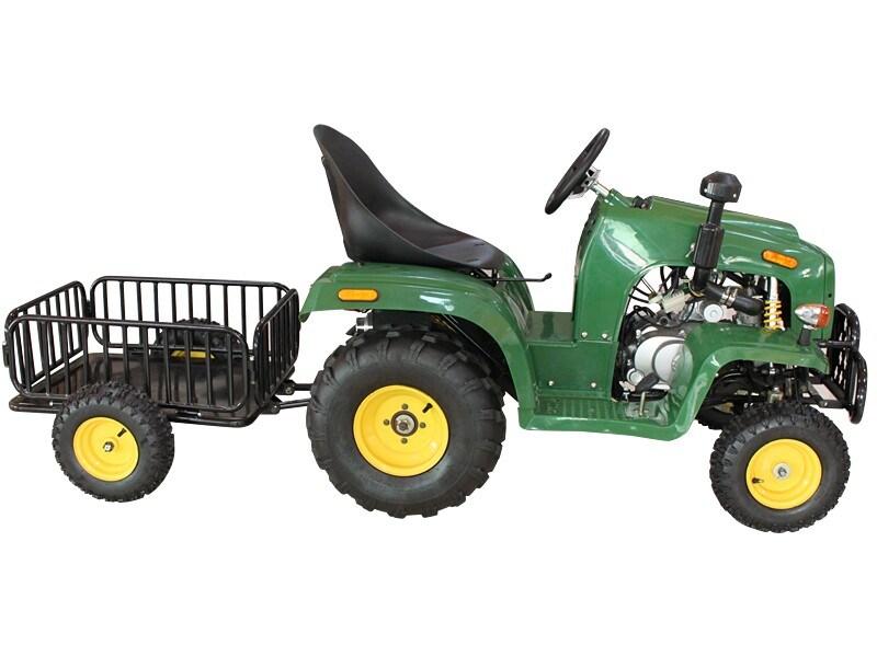 4 Wheel Mini Tractor