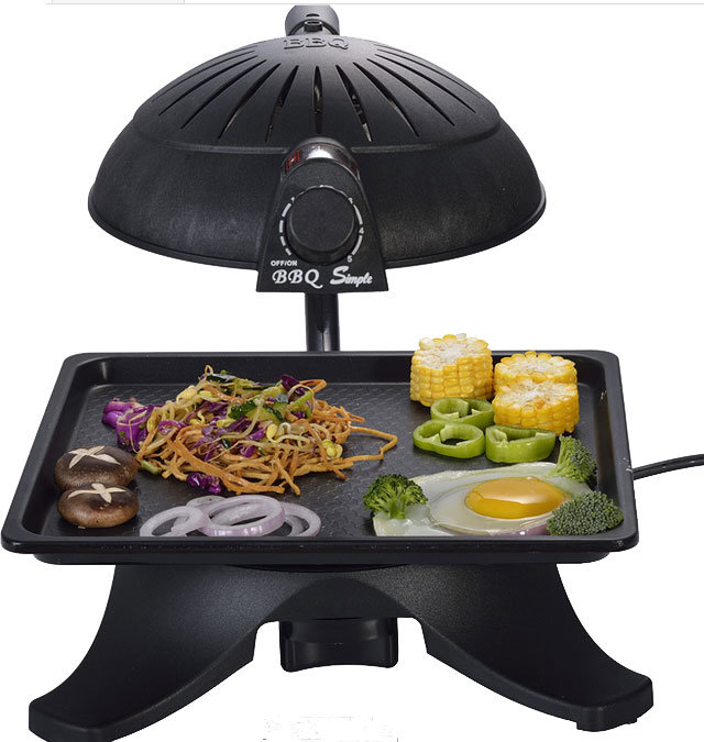 3D Smokeless Infrared Barbecue Grill (ZJLY)
