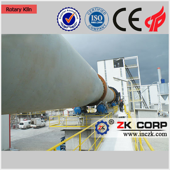 Energy-Saving Zk Rotary Kiln with Low Price