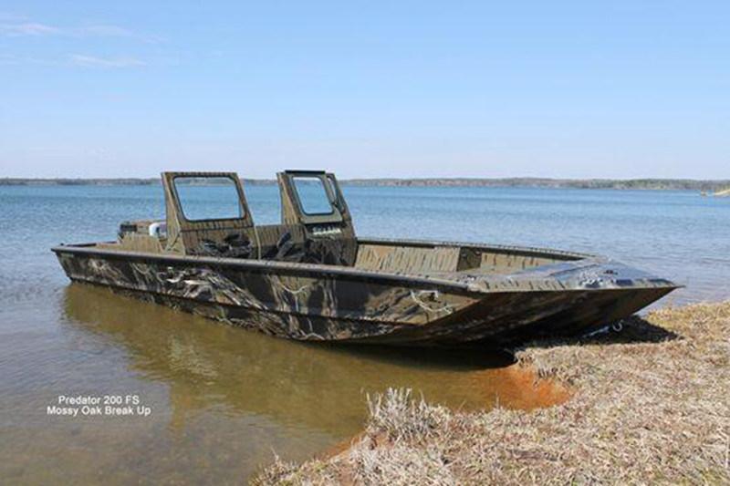 Aluminium Boats for Bass and Panfish (LURE7-18)