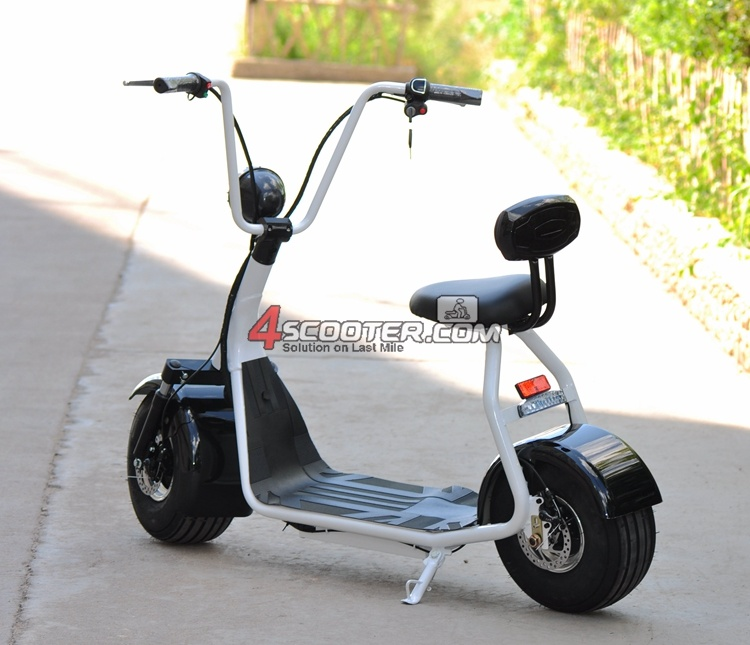 500W or 800W Brushless Electric Scooter Motor, City Coco Electric Scooter for Sale