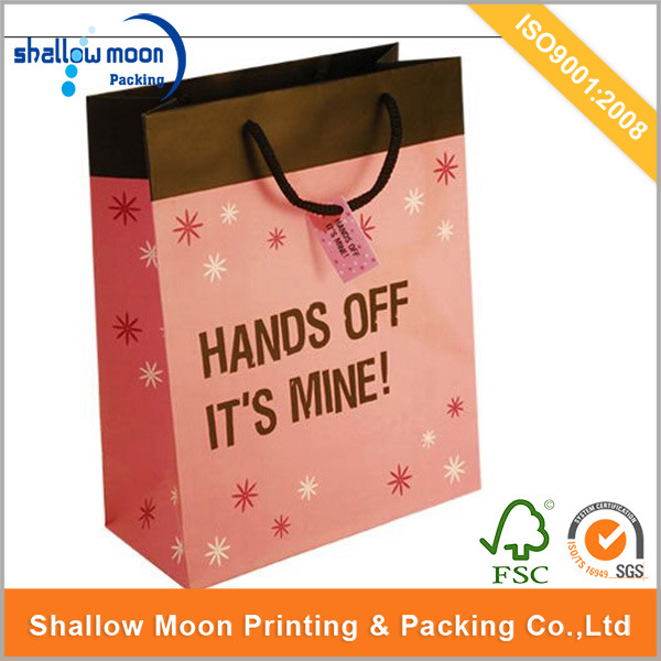 Fashion Shopping Bag Paper Carrier Bag (QYZ004)