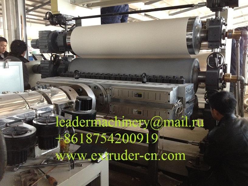 PVC Free Foam Sheet/Board Extrusion Line, Sheets Line