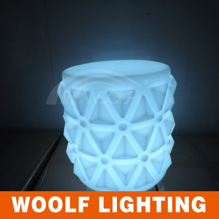 Glowing LED Furniture, Bar Chair, Outdoor Furniture,