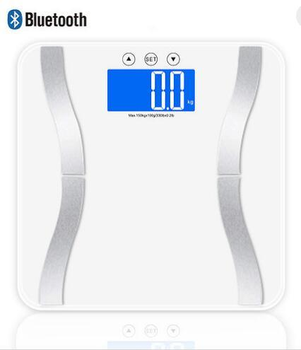 Large Platform 8mm Tempered Glass Digital Personal Health Body Scale
