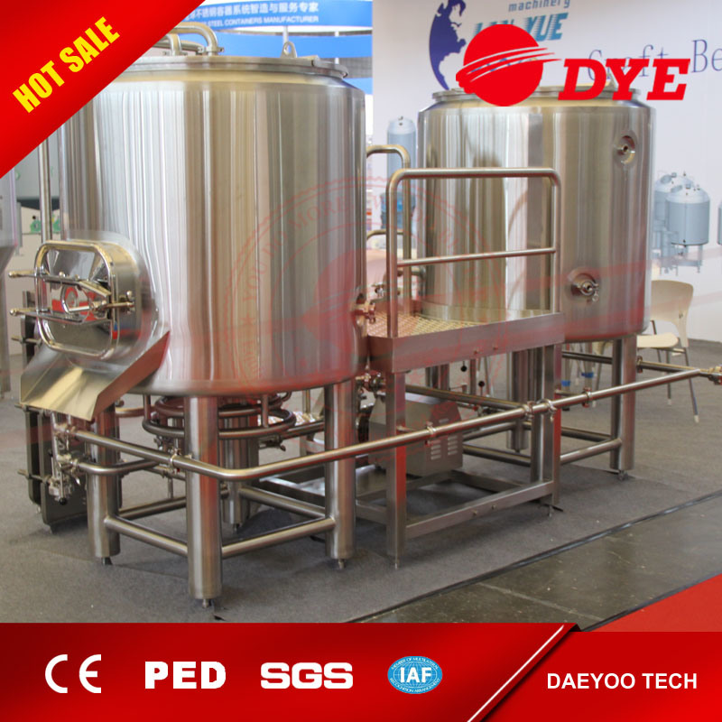 Made in China Beer Beverage Machine Industrial Stainless Steel Beer Brewing Equipment