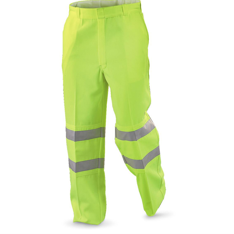 Reflective Safety Workwear Pants with Cotton and Polyester