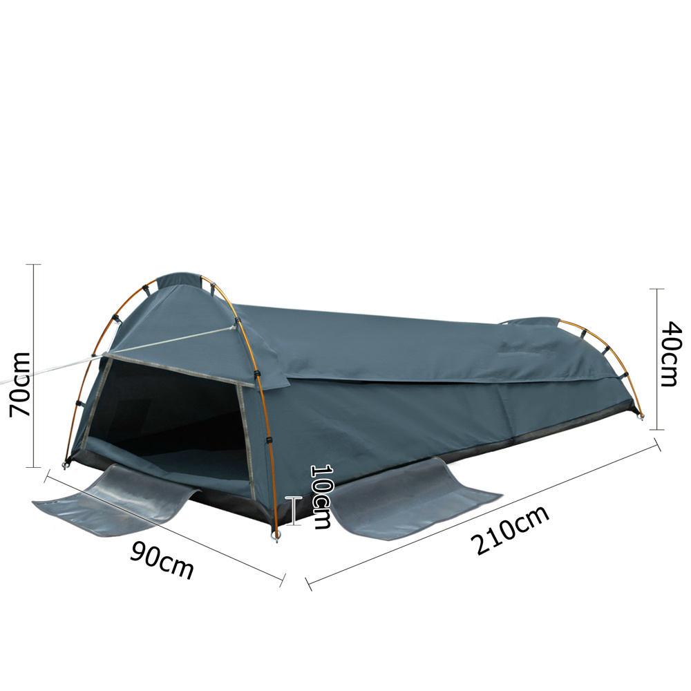 Little Rock Ripstop Single Swag Tent for Wild Outdoor