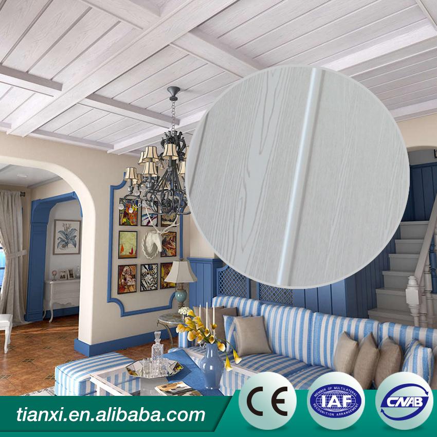Eco-Friendly Fashion Design Decorative Wall Panels / PVC Ceiling Panel