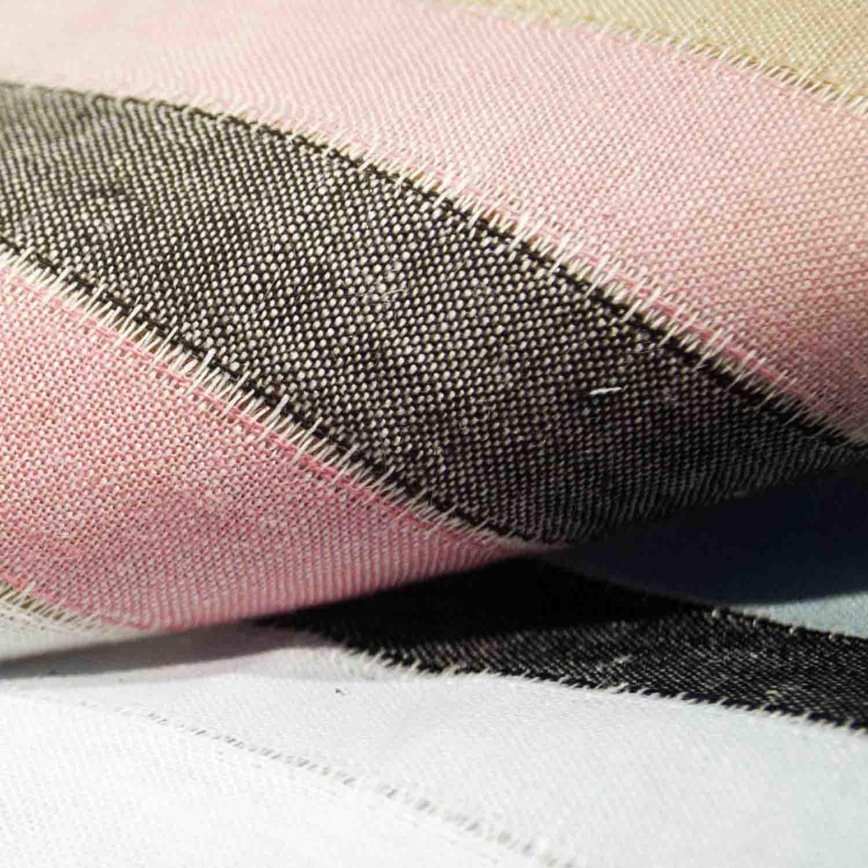 Cotton Fabric Dyed Jacquard Fabric Linen Fabric for Woman Dress Skirt Coat Children Garment Home Textile