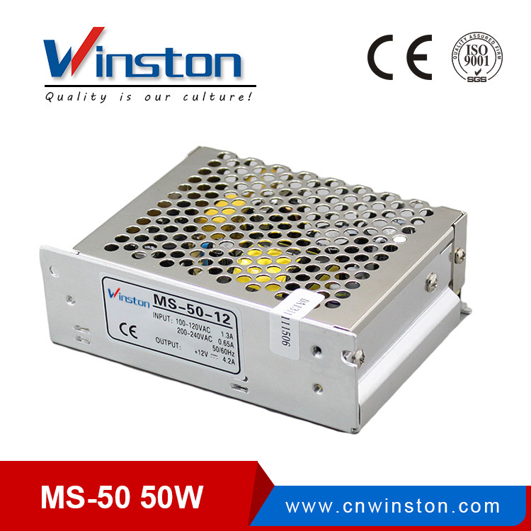Ms-50 Series Small Body 50W SMPS/Power Inverter with Ce
