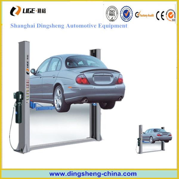 Manual Car Lift 2 Post Lifting Machine