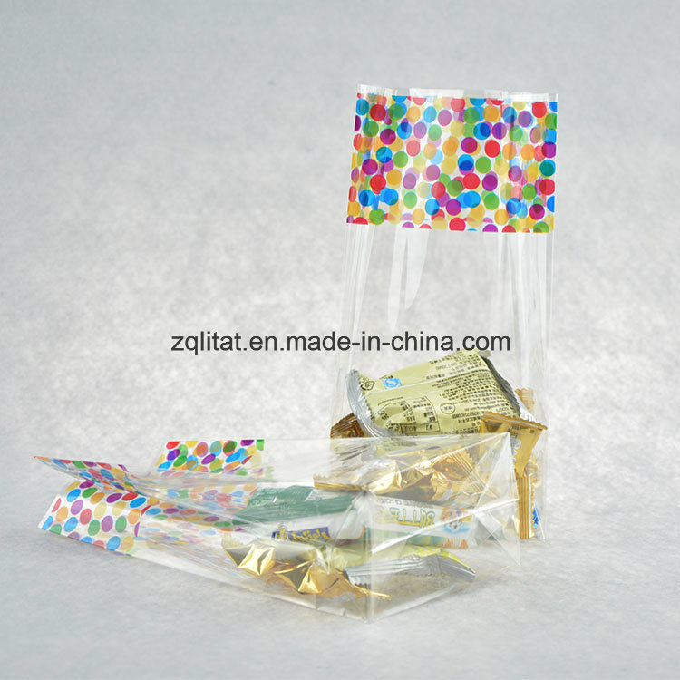 Transparent Plastic Flat Bottom BOPP Gift Packaging Bag/ Cello Bag