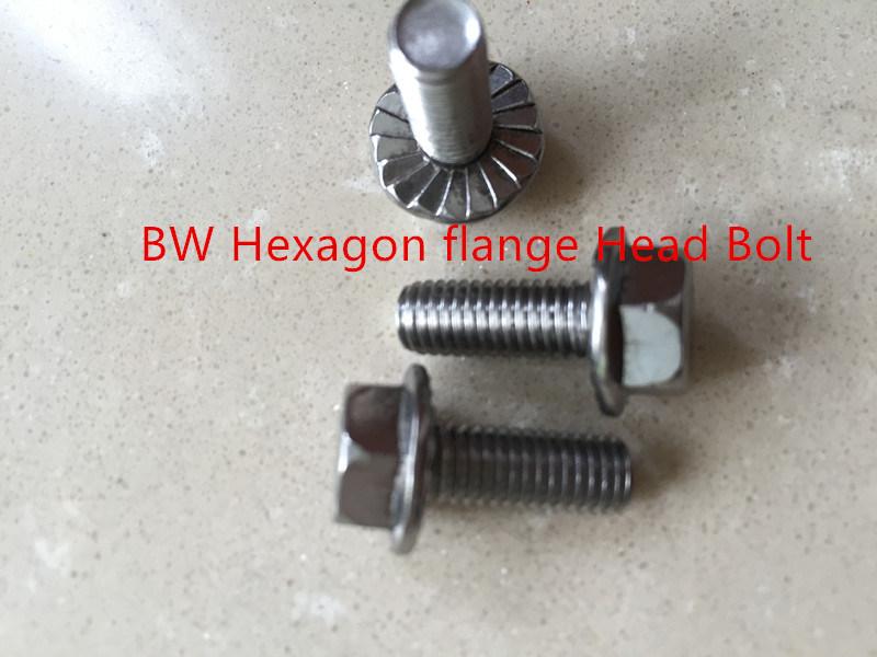 Hexagon Flange Head Bolt