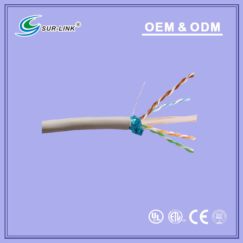 23 AWG FTP Cat. 6 Solid LAN Cable