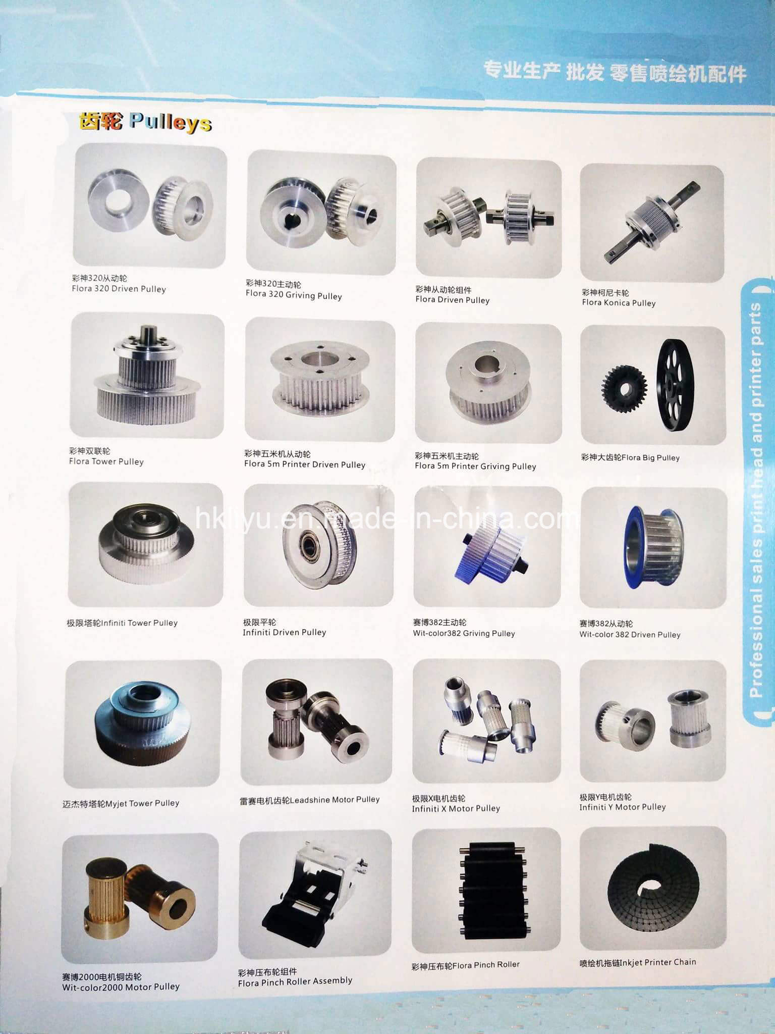 Large Format Printer Spare Parts