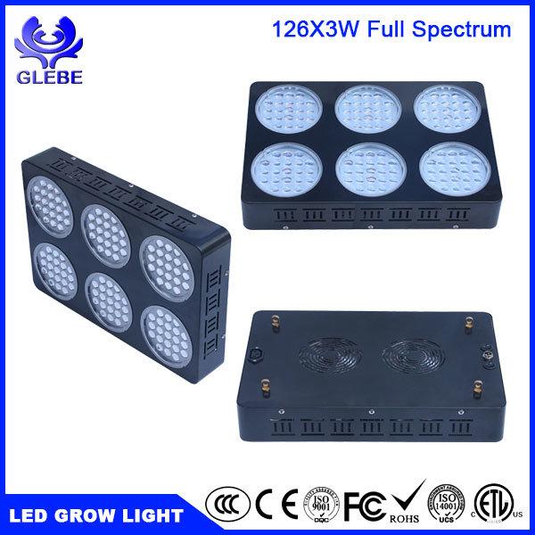 Shenzhen 126PCS/LED3w LED Grow Light Full Spectrum for Indoor Plants Veg and Flower 5292lm