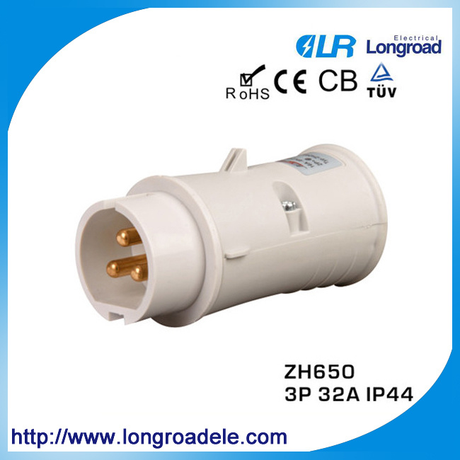 3p 32 AMP Industrial Plug (Protection Rate: IP44)