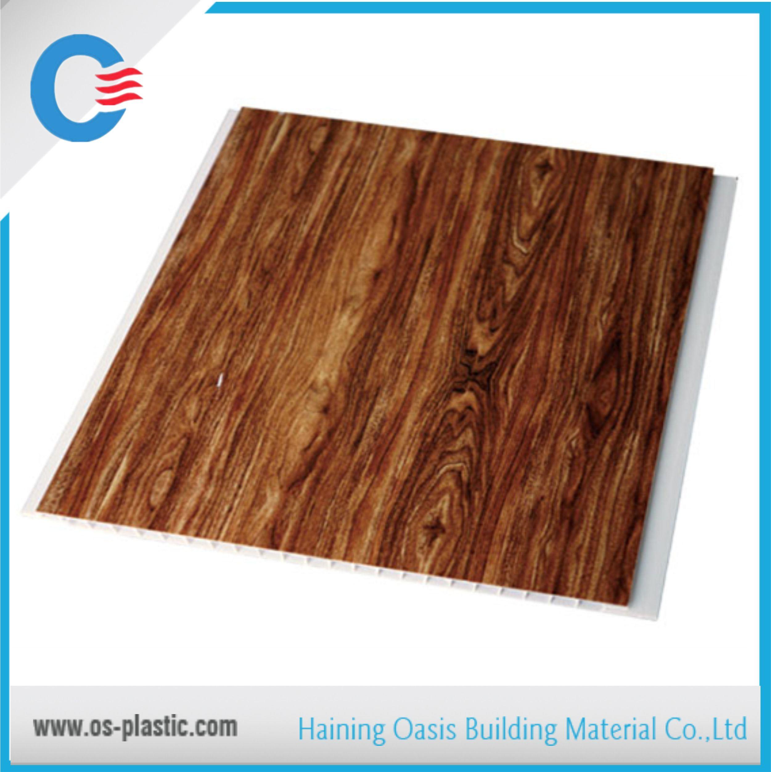 PVC Laminated Wall Panel PVC Ceiling Panels Interior Decorative Board