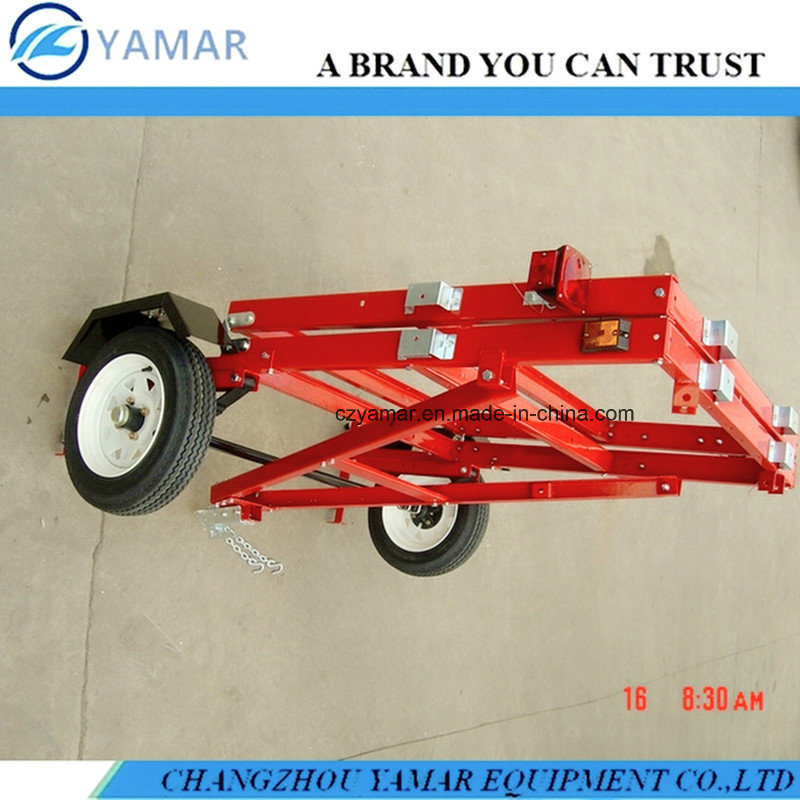 Folding Trailer 4FT. X 8FT. with 1720lb. Payload Capacity