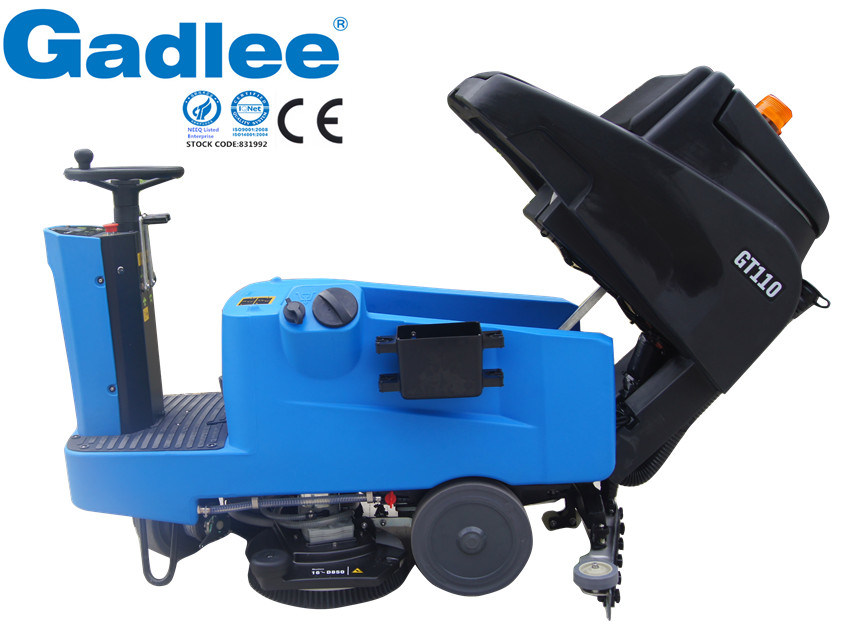 Gadlee Top Quality Low-Noise Eco Ride-on Scrubber Dryer Multi Function