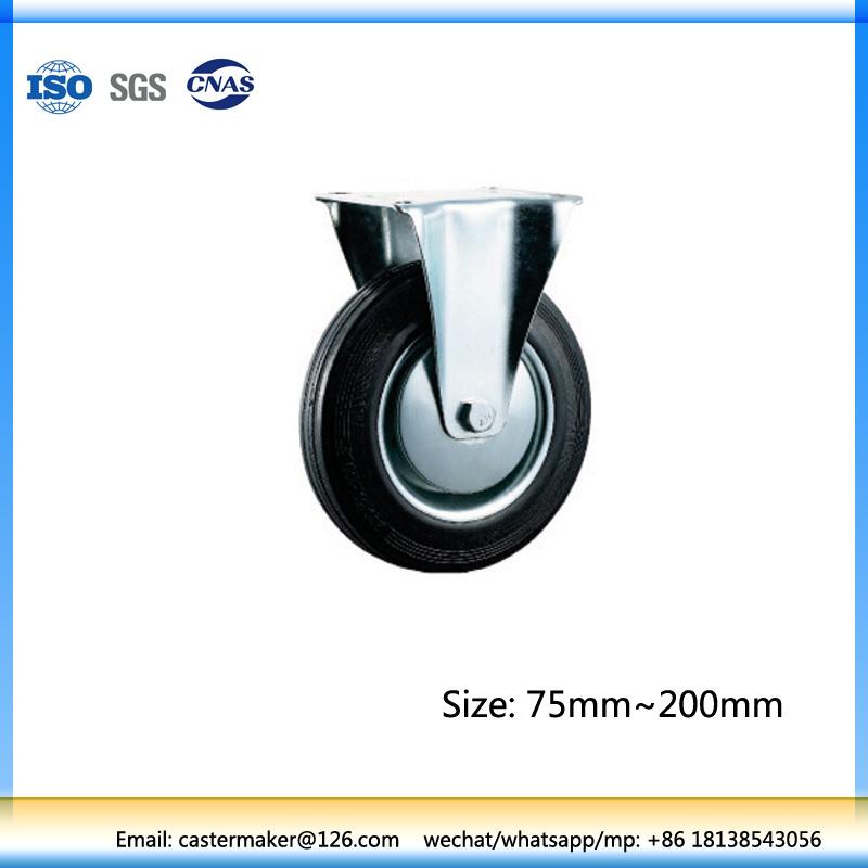 Small Rigid Rubber Wheels 8 Inch