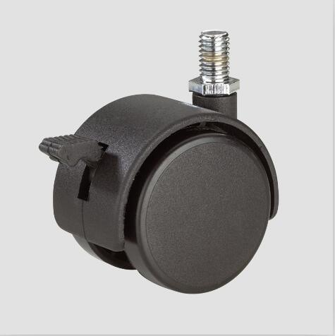 1.6inch Home Furnitures Chairs Thread Caster with Brake