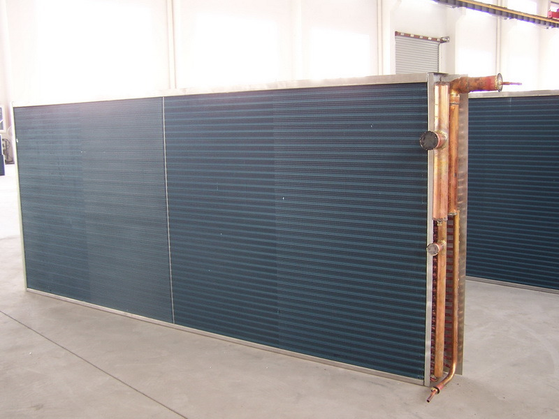 High Performance Air Forced Ahu and Refrigeration System Used Condenser